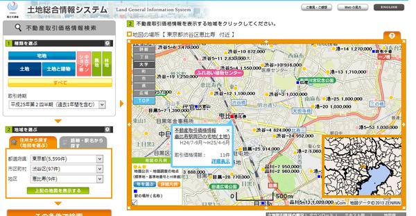 国土交通省-土地総合情報システム01